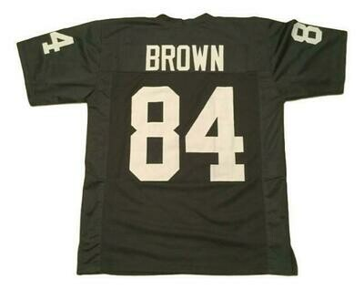 Antonio Brown CUSTOM STITCHED Unsigned Football Jersey Black