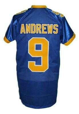 Archie Andrews #9 Riverdale High School Football Jersey Blue