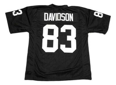 Ben Davidson CUSTOM STITCHED Unsigned Football Jersey Black