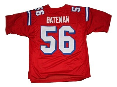 Bateman #56 The Replacement Football Jersey Red