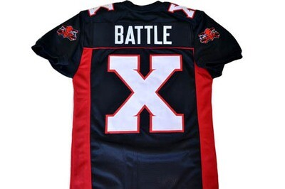 Battle X Mean Machine Longest Yard Football Jersey Black