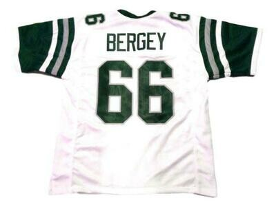 Bill Bergey CUSTOM STITCHED Unsigned Football Jersey White