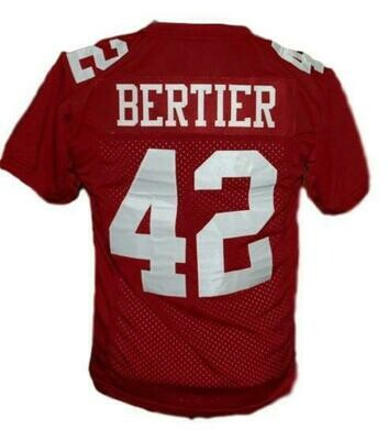 Bertier #42 T.C.Williams The Titans Football Jersey Maroon