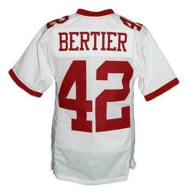 Bertier #42 T.C.Williams The Titans Football Jersey White