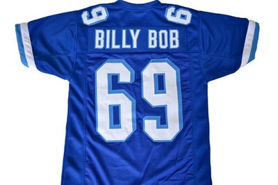 Billy Bob #69 Varsity Blues Football Jersey Blue