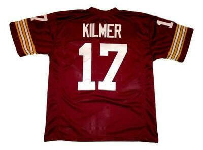 Billy Kilmer CUSTOM STITCHED Unsigned Football Jersey Maroon