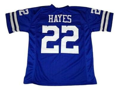 Bob Hayes CUSTOM STITCHED Unsigned Football Jersey Blue