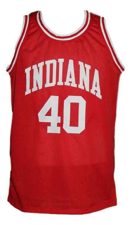 Cody Zeller #40 College Basketball Jersey Sewn Red