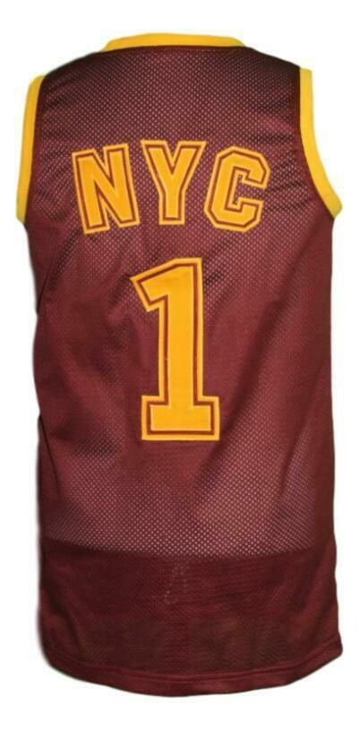Custom Name # Rucker Park Basketball Jersey New Sewn Maroon