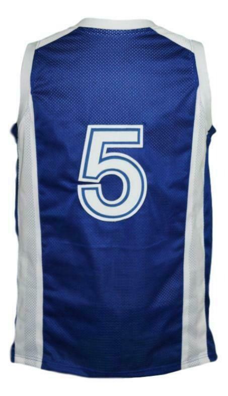 Custom Name # Team Israel Basketball Jersey New Sewn Blue