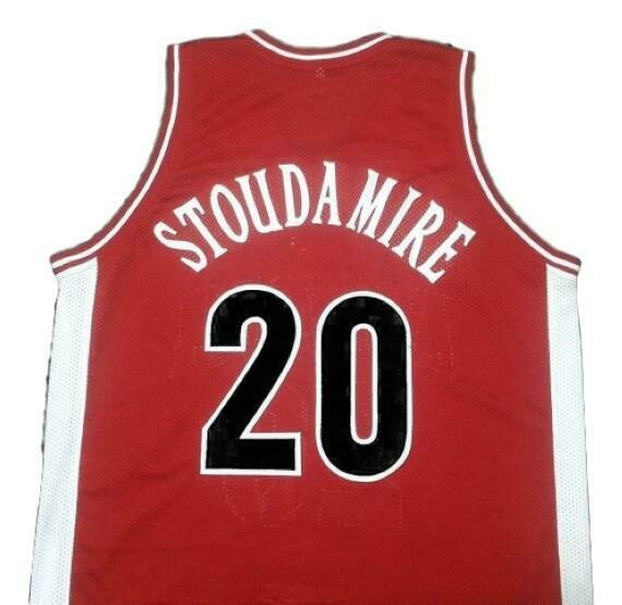 Damon Stoudamire College Basketball Jersey Sewn Red