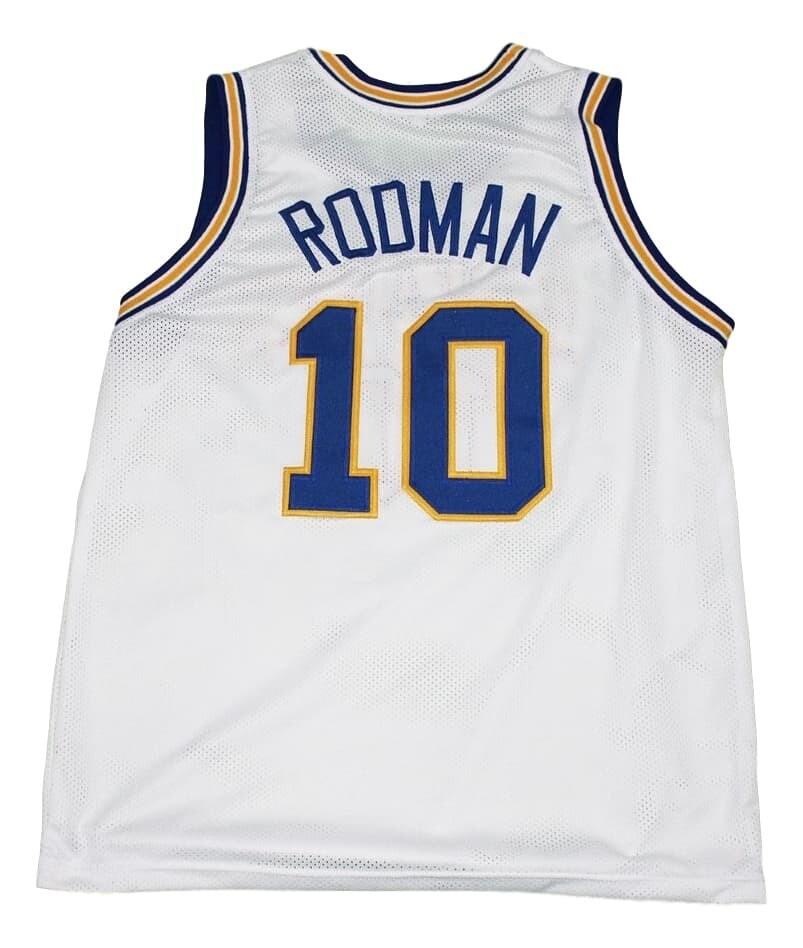 Dennis Rodman #10 Oklahoma Savages Basketball Jersey White