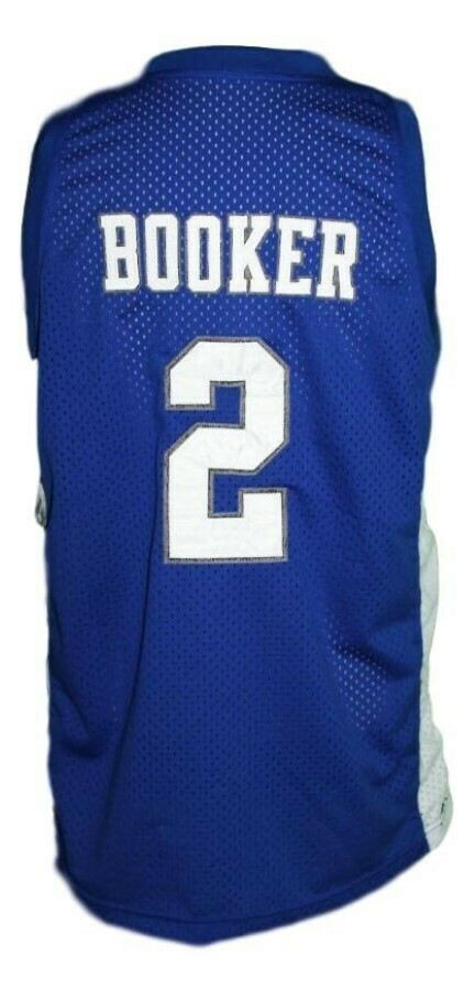 Devin Booker #2 Moss Point High School Basketball Jersey Blue