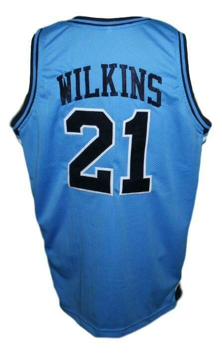 Dominique Wilkins Pam Pack High School Basketball Jersey Blue