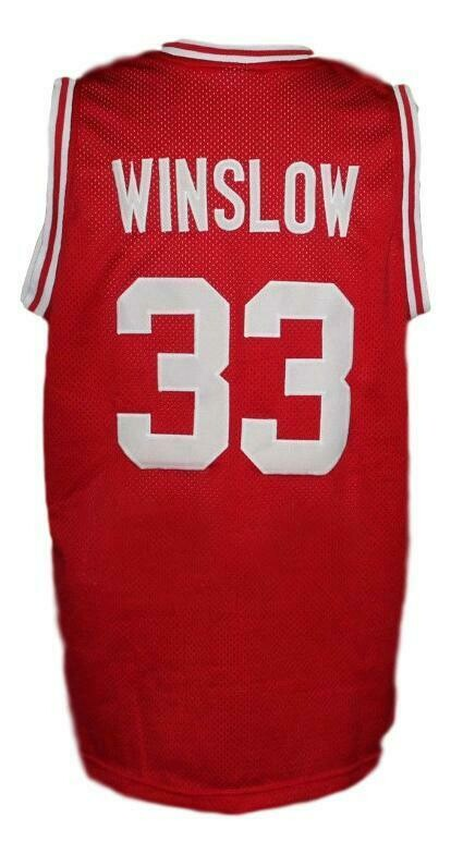 Eddie Winslow Vanderbilt Family Matters Basketball Jersey Red