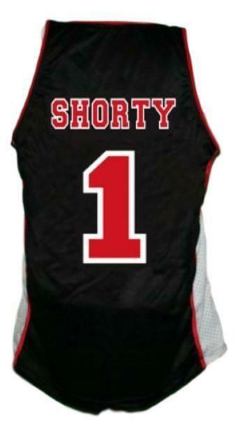 Fredo Starr Shorty #1 Sunset Park Basketball Jersey Black