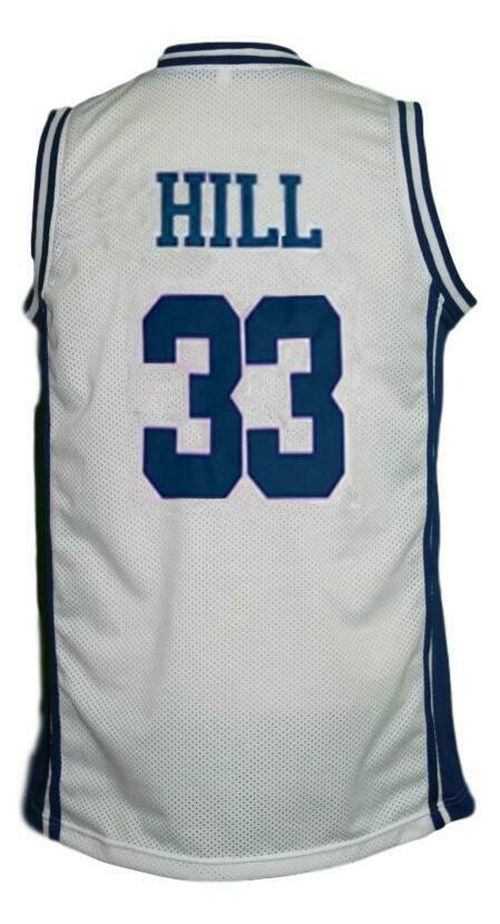 Grant Hill #33 College Basketball Jersey White