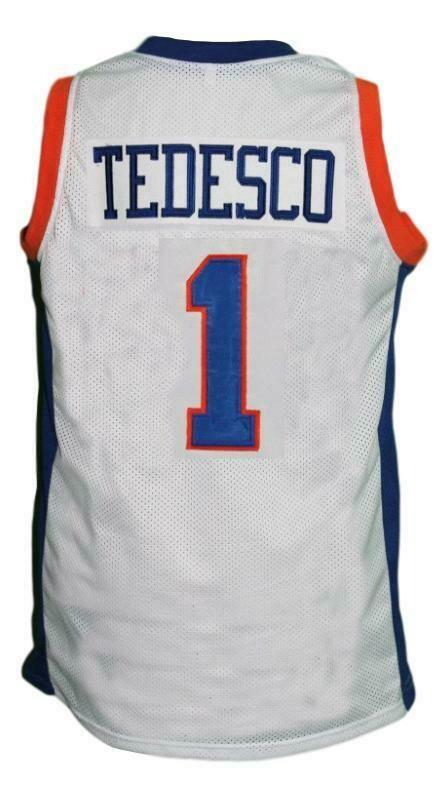 Harmon Tedesco #1 Blue Mountain State Basketball Jersey White