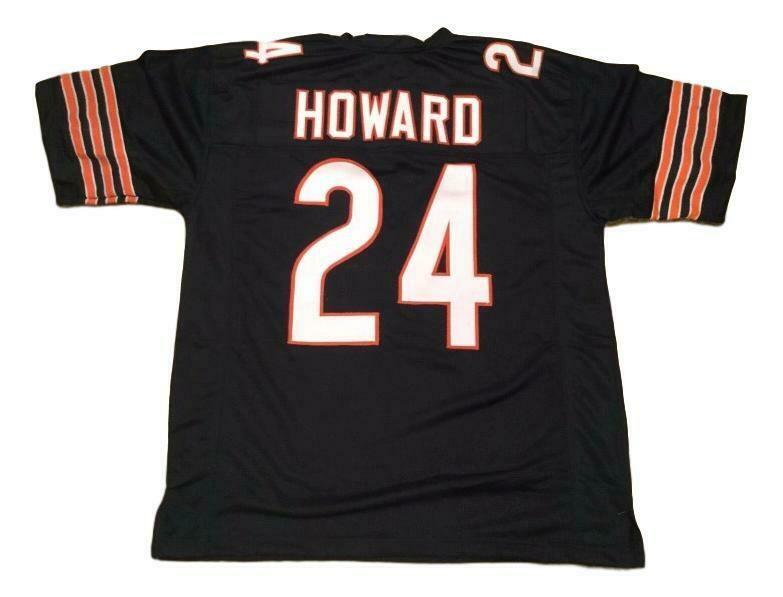 Jordan Howard CUSTOM STITCHED Unsigned Football Jersey Blue