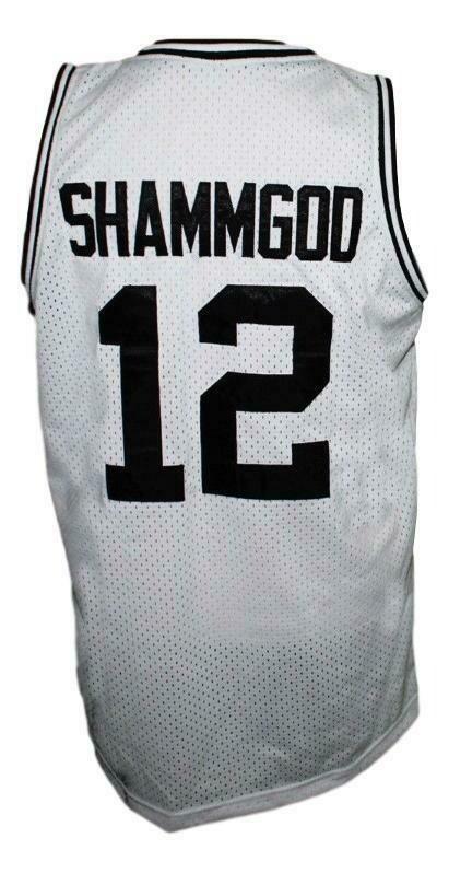 God Shammgod Basketball Jersey White