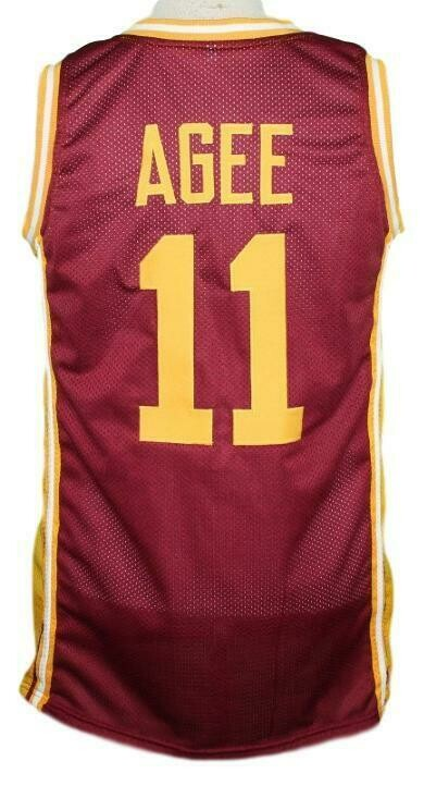 Hoop Dreams Arthur Agee Basketball Jersey Maroon
