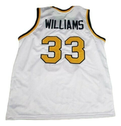 Jason Williams #33 Dupont High School Basketball Jersey White