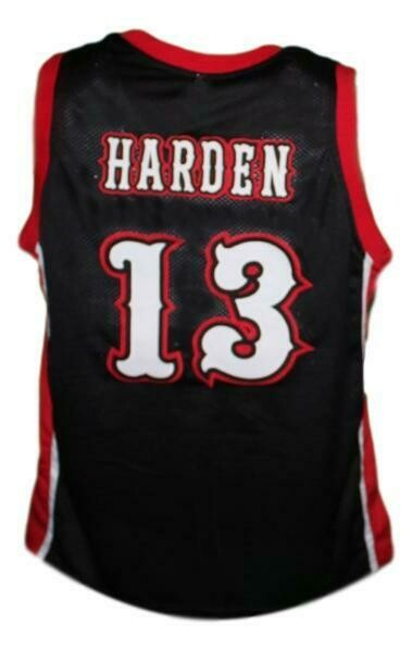James Harden #13 Artesia High School Basketball Jersey Black