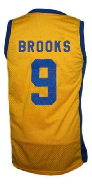 Jimmy Brooks Degrassi High School Basketball Jersey Yellow