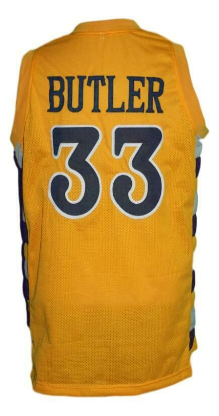 Jimmy Butler #33 College Basketball Jersey Sewn Gold