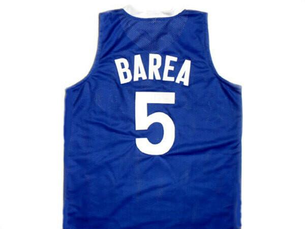 Jose JJ Barea #5 Puerto Rico Basketball Jersey Blue