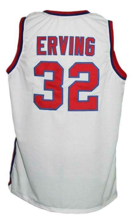 Julius Erving #32 Virginia Squires Aba Retro Basketball Jersey White