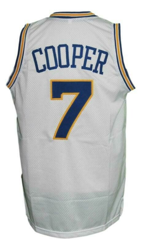 Mark Curry #7 Hangin With Mr Cooper Tv Basketball Jersey White