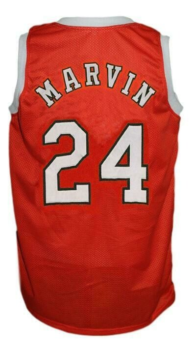 Marvin Barnes #24 Spirits Of St Louis Aba Basketball Jersey Orange