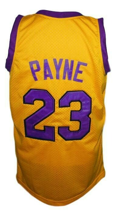 Martin Payne #23 Tv Show Basketball Jersey Yellow