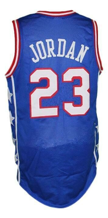 Michael Jordan #23 McDonald's All American Basketball Jersey New Blue