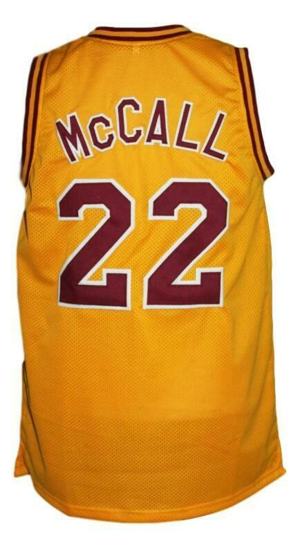 McCall #22 Love And Basketball Jersey Yellow