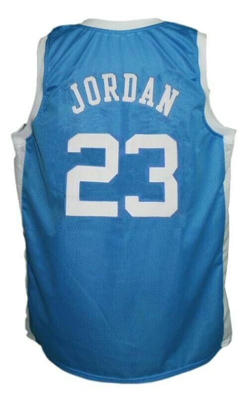 Michael Jordan #23 College Basketball Jersey Blue