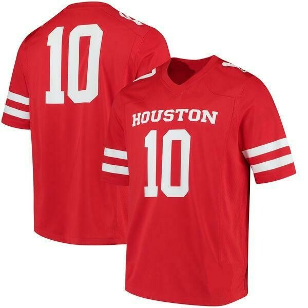Houston Cougars Customizable College Football Jersey Style 1