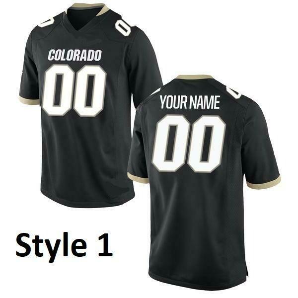 Colorado Buffaloes Customizable College Football Jersey Style 1