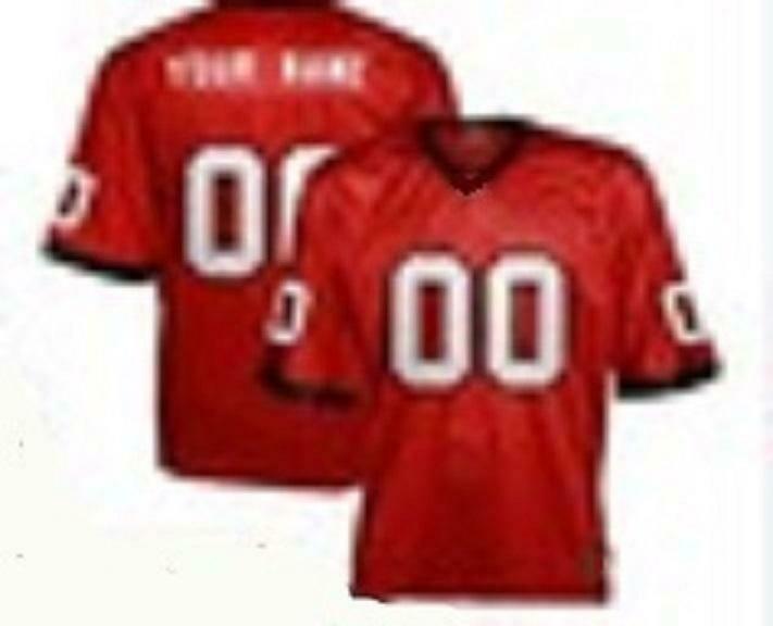 Georgia Bulldogs Customizable College Football Jersey Style 3