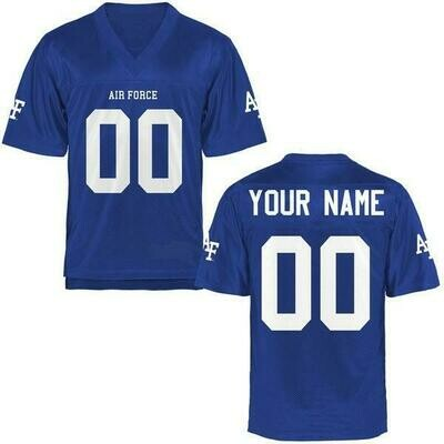 Air Force Falcons Style Customizable Football Jersey Style 2