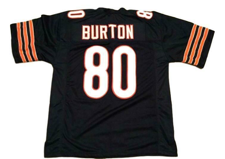 Trey Burton CUSTOM STITCHED Unsigned Football Jersey Navy Blue