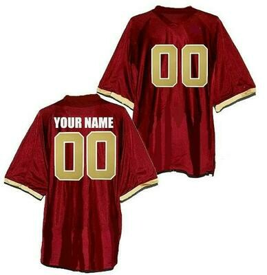 Boston College Eagles Style Customizable Football Jersey Style 1