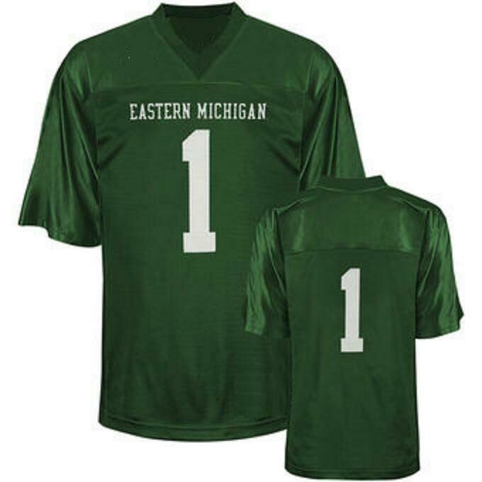 Eastern Michigan Eagles Style Customizable Football Jersey