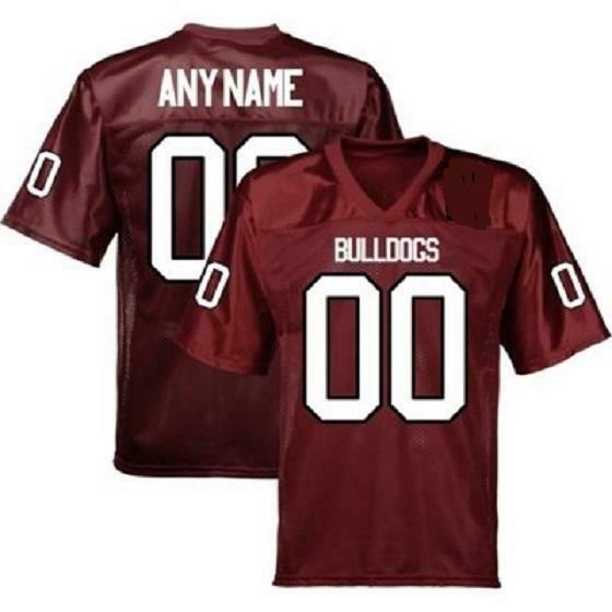 Alabama A&M Bulldogs Style Customizable College Football Jersey