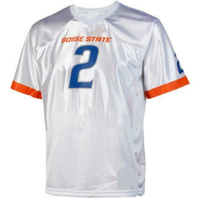 Boise State Broncos Style Customizable Football Jersey Style 1