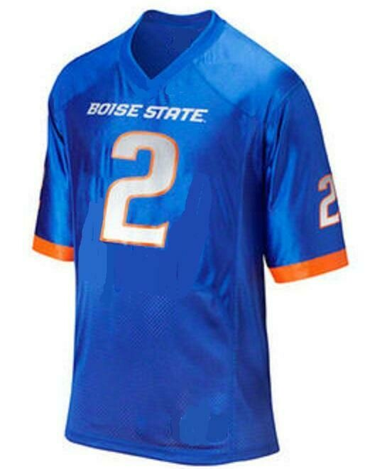 Boise State Broncos Style Customizable Football Jersey Style 2