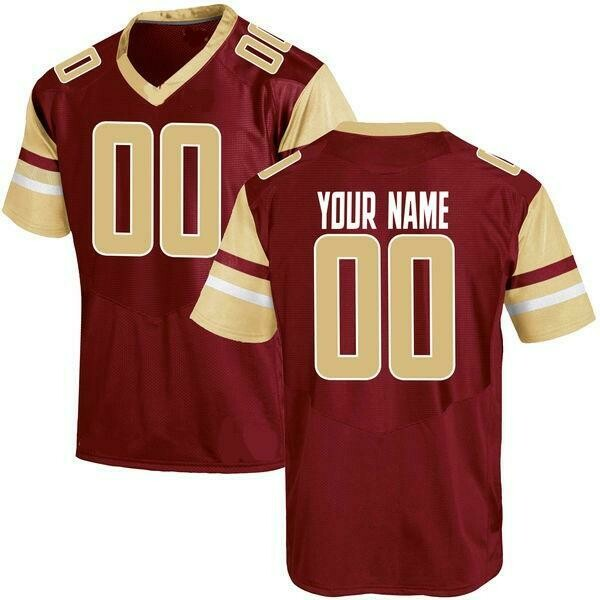 Boston College Eagles Style Customizable Football Jersey Style 2