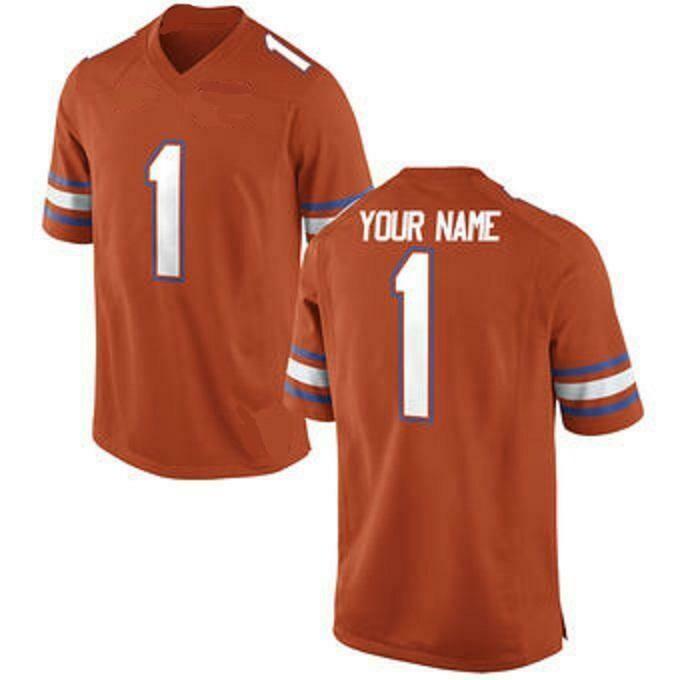 Florida Gators Style Customizable Football Jersey Style 1