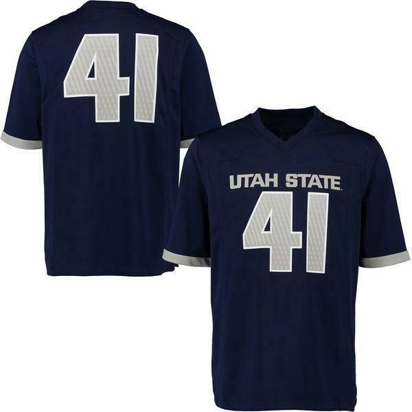 Utah State Aggies Style Customizable Football Jersey Style 2